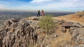 Hike on Piestewa Peak, PHX.