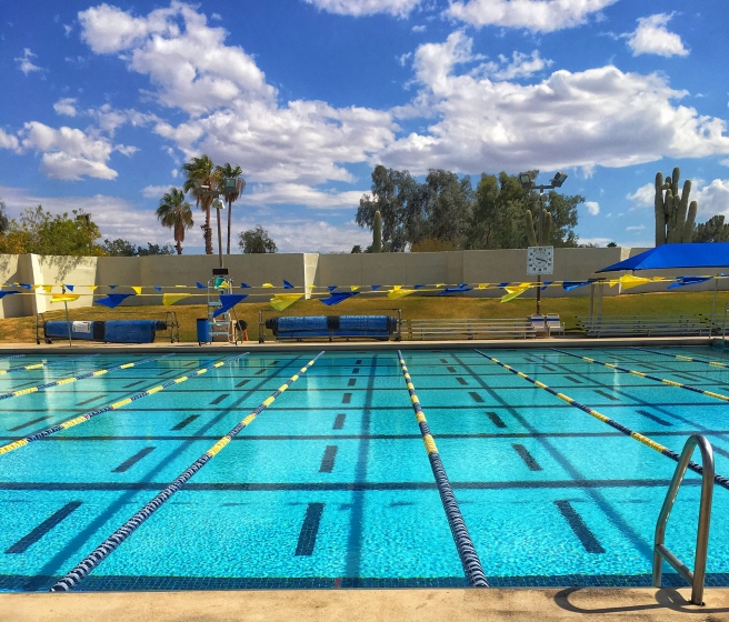 One of the great public pools in Scottsdale. 23 Lanes!