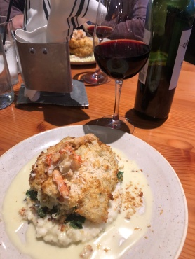 Crab-Stuffed Cod at Wildfin at Ruston Point